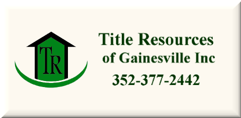 Title Resources of Gainesville Inc.